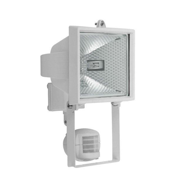 livraison gratuite projecteur exterieur 500w rectangle blanc avec d tecteur de mouvement. Black Bedroom Furniture Sets. Home Design Ideas