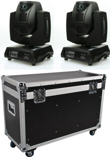 lot de 2 STARWAY SERVOBEAM 5R mKII Beam 5R avec flightcase