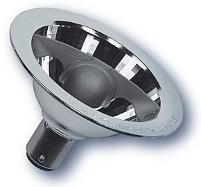 LAMPE AR70 12V 50W 24° Ba15d OSRAM Halospot 70 41990 FL code 0004020