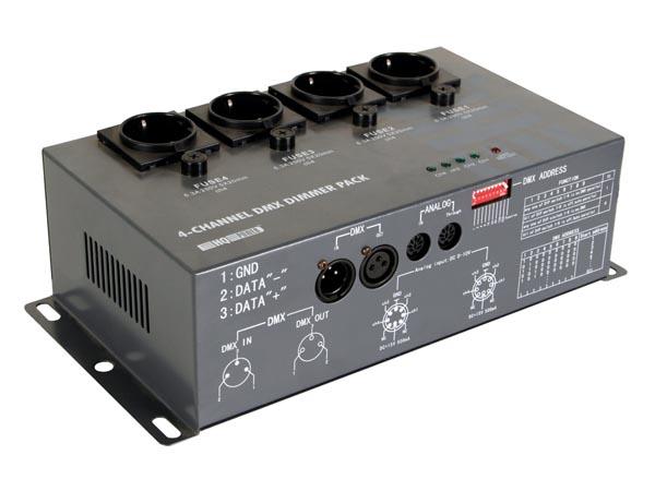 Bloc de puissance HQ Power 4 canaux DMX 4X5A