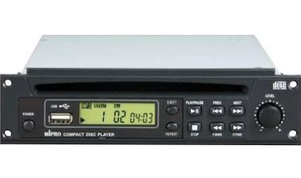 Lecteur CD USB mipro 8CD 0036 pour MA505 MA705 MA708 MA808