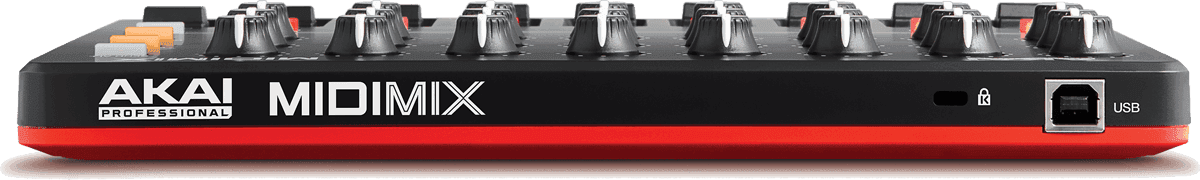 Contrôleur MIDI AKAI MIDIMIX 9 Faders 24 Potentiomètres et 8 Boutons