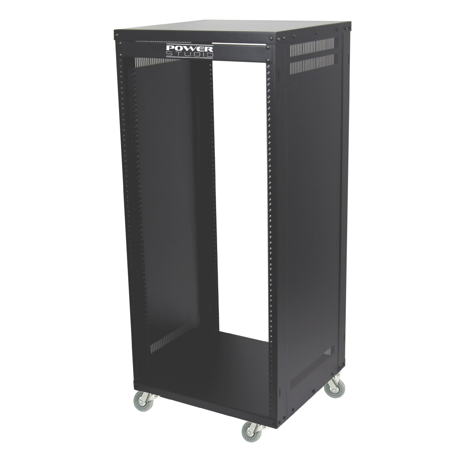 livraison gratuite armoire rack m tal 22u sur roulettes syst mes triphoniques prozic. Black Bedroom Furniture Sets. Home Design Ideas