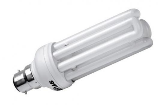 Ampoule Eco B22 20W 827 Blanc chaud Sylvania Minilynx fast start code 0031171