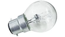 Ampoule B22d halogène sphérique 20W équivalent 25W General electric
