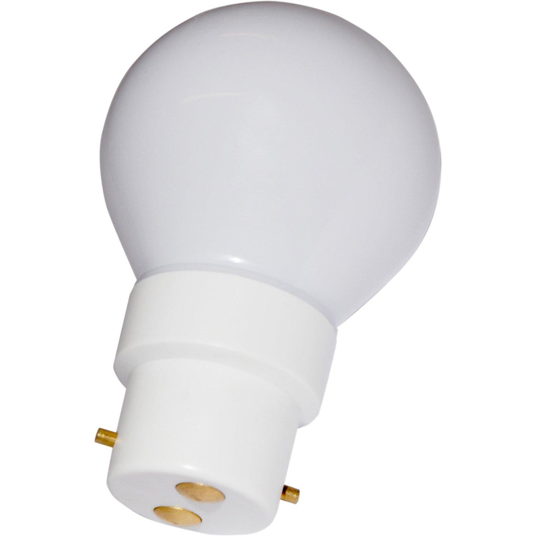 0 Led Blanc Froid B22 230v Ampoule Sphérique 5w KFlT1Jc