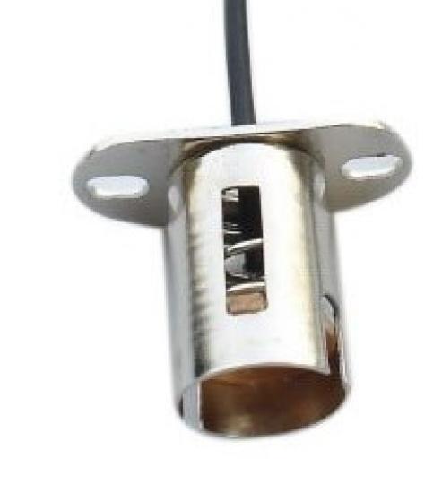 livraison gratuite douille pour ampoules culot ba15s sortie arri re douilles pour baionnettes. Black Bedroom Furniture Sets. Home Design Ideas