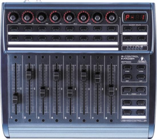 Controleur midi 8 fader motorisés Behringer BCF2000