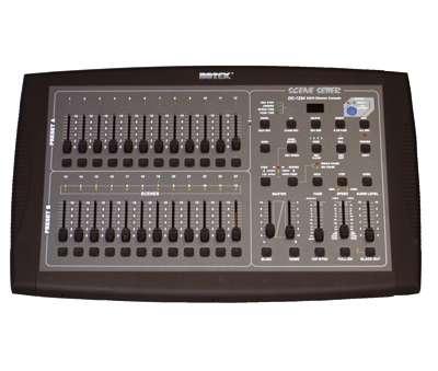 Jeu d'orgue 12/24 canaux DMX BOTEX DC 1224 Nouveau modèle patchable