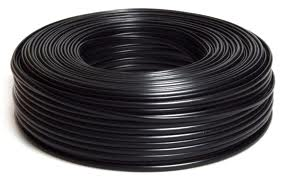 Câble plat HO5RNH2F 2X2.5mm² pour fabrication guirlande vendu au mètre