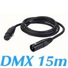 cable DMX 110ohms XLR 3 broches male Femelle 15 m