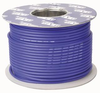 Cable DMX 2 conducteurs + blindage bleu au metre