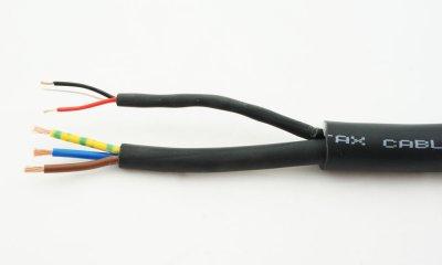 Cable mixte DMX 3 conducteurs + Alim 3 X 1.5mm2 au metre