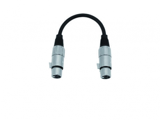 cable adaptateur XLR 3 broches femelle - femelle