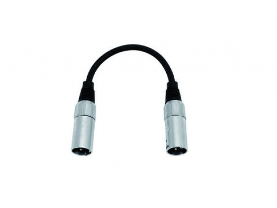 cable adaptateur XLR 3 broches male male