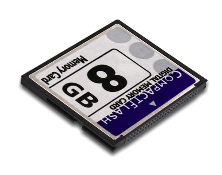 carte memoire compact flash Prozic : Carte mémoire compact Flash 8Go