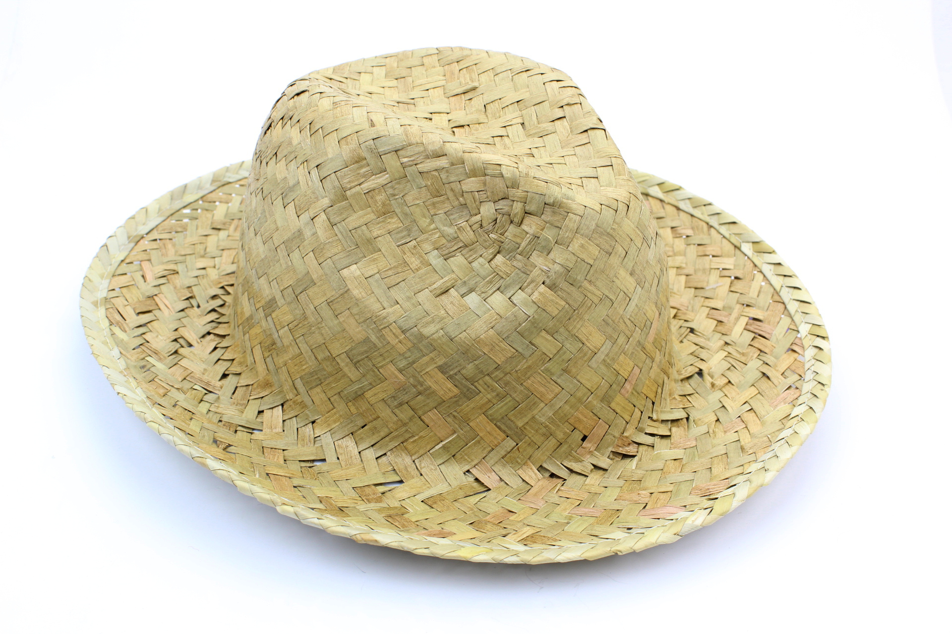 chapeau style panama en paille (sans bandeau noir)