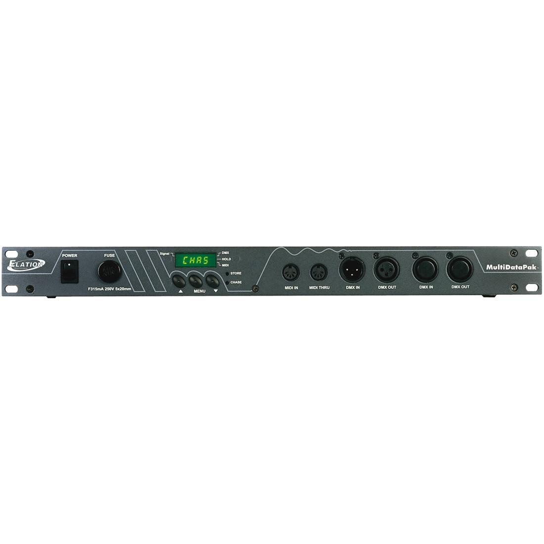 Demultiplexeur DMX512 vers 0-10V elation Multi Data/PAK 72 canaux