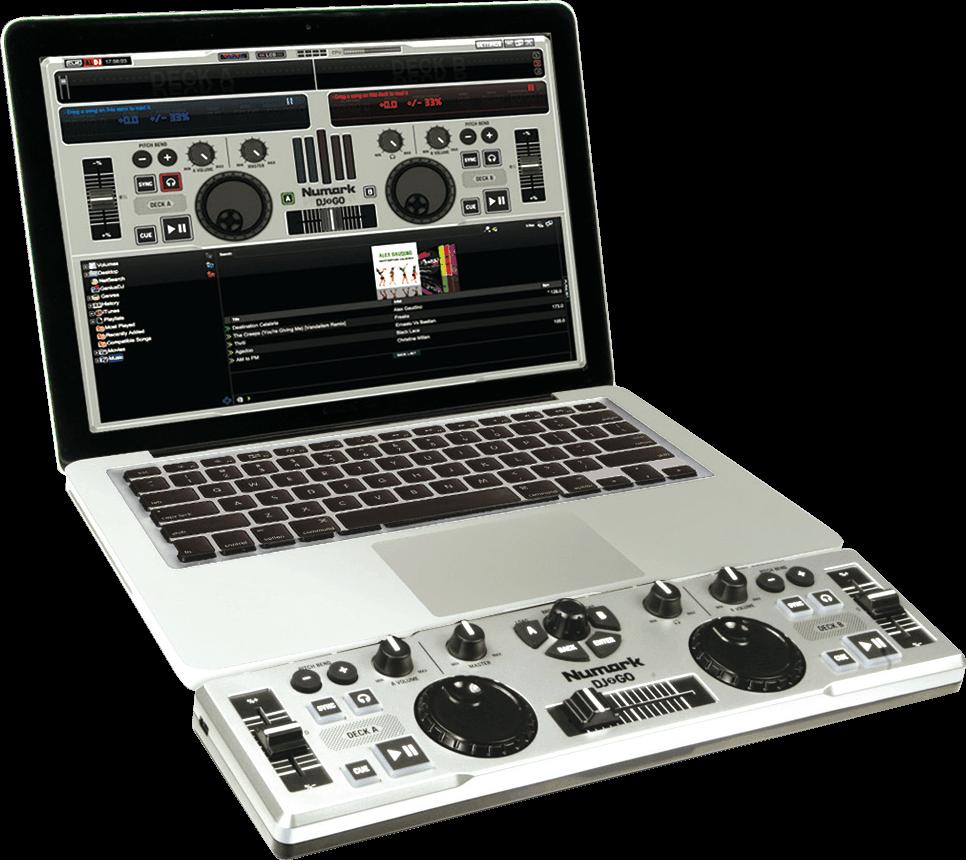 Contrôleur DJ Numark DJ2Go 2 Voies + 16 Pads