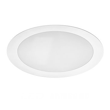 Downlight led Beneito Faure blanc 230V 25W 120° 840