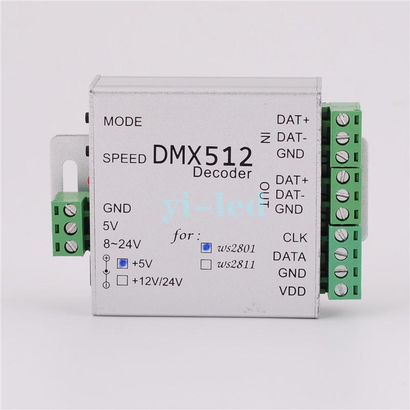 CONTROLEUR dmx POUR LED PIXEL WS 2811