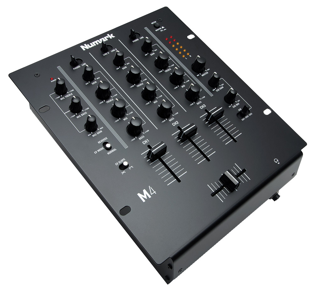 livraison gratuite table de mixage dj numark m4 3. Black Bedroom Furniture Sets. Home Design Ideas