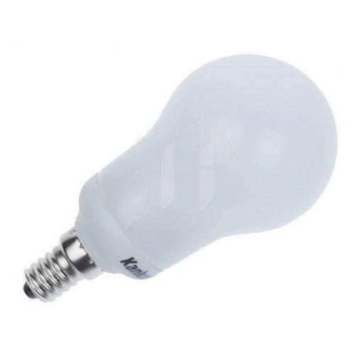 Ampoule Eco E14 sphérique 11W Blanc universel 3500K