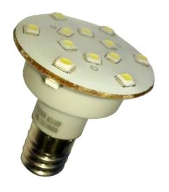 Ampoule led E14 60V 16 led pour équipement forain Blanc