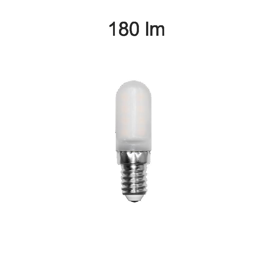livraison gratuite ampoule led e14 miniature 19 x 63mm 2w 830, e14