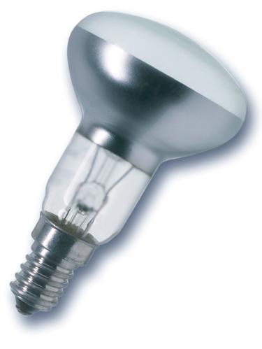 Lampe spot reflecteur E14 R50 40W 240V