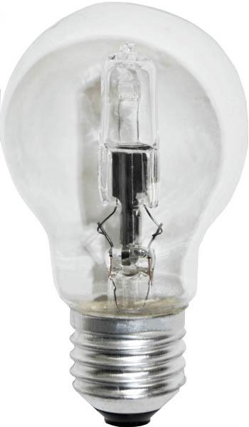 Lampe E27 230V 46W Standard claire éco équivalent 60W OSRAM 64543 code 1998064