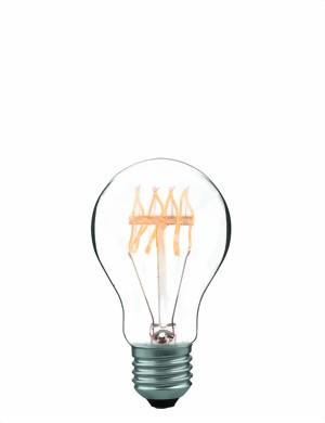 Ampoule E27 230V 60W  décoration claire filament carbone code 007049