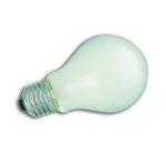 Ampoule E27 230V 75W Standard dépolie