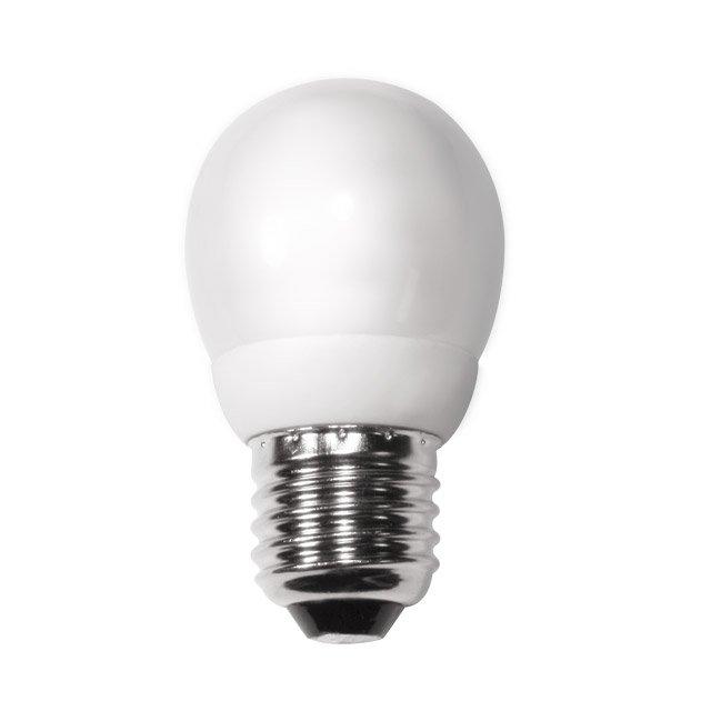 ampoule Eco E27 sphérique 9W code 0035406 sylvania
