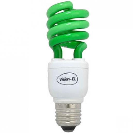 Ampoule Eco E27 15W verte