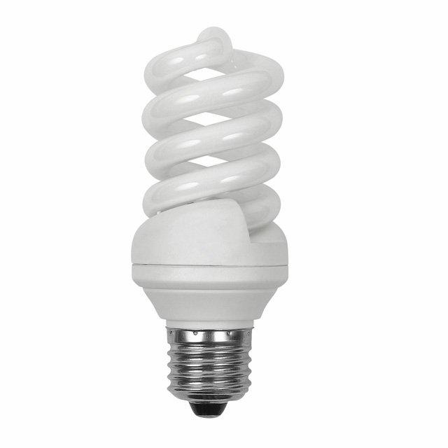 Ampoule Eco E27 15W 827 Spirale