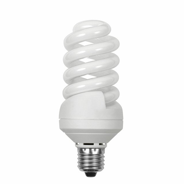 Ampoule Eco E27 24W 827 Spirale