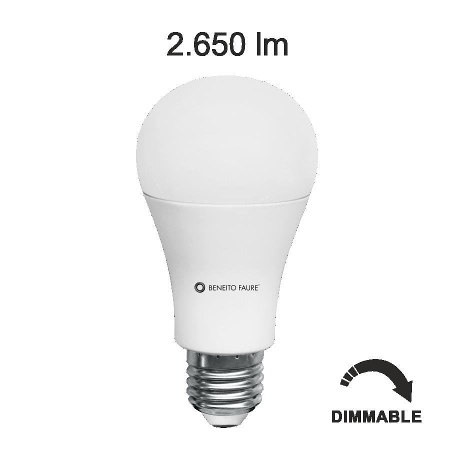 Livraison gratuite lampe led e27 17w beneito et faure - Lampe led e27 ...