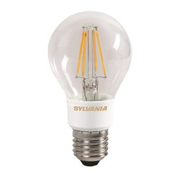 livraison gratuite ampoule e27 led toledo retro sylvania 5 5w blanc chaud 2700k dimmable led. Black Bedroom Furniture Sets. Home Design Ideas