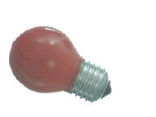 Lampe E27 à led Rouge 0.5 W 230V