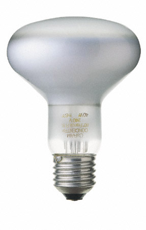 Lampe spot reflecteur E27 R80 40W 230V