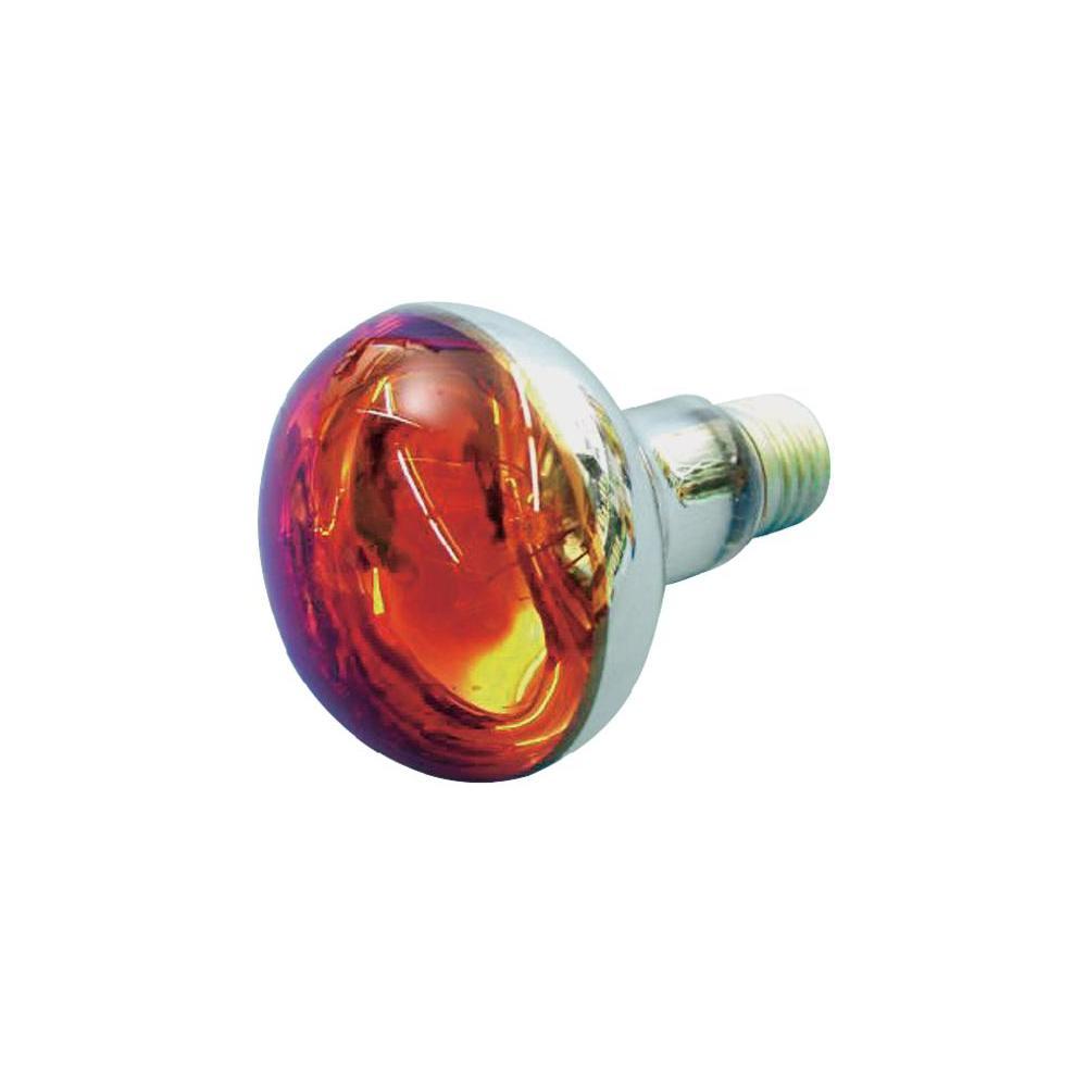 livraison gratuite lampe spot reflecteur e27 r80 60w 230v orange 220v 250v prozic. Black Bedroom Furniture Sets. Home Design Ideas
