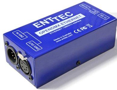 Convertisseur node ART NET to DMX ENTTEC ODE Open DMX Ethernet code 70305