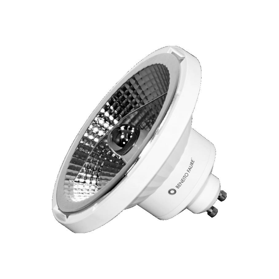 Ampoule Beneito Faure led ES111 GU10 230V 15W Blanc chaud 4000K 1130 lumens