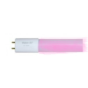 livraison gratuite tube led vision el 25w 1500mm rose tubes couleurs t8 diam 26mm prozic. Black Bedroom Furniture Sets. Home Design Ideas