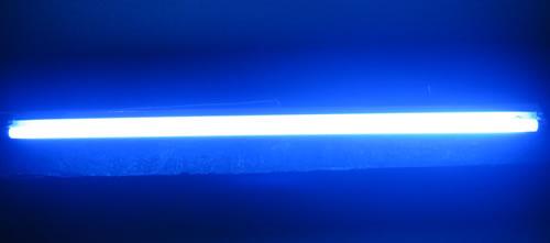 Tube fluo Sylvania 36W 26X1200mm BLEU