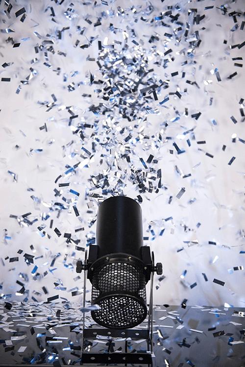 Lanceur de confettis Chauvet DJ Funfetti Shot  DMX portée 9m