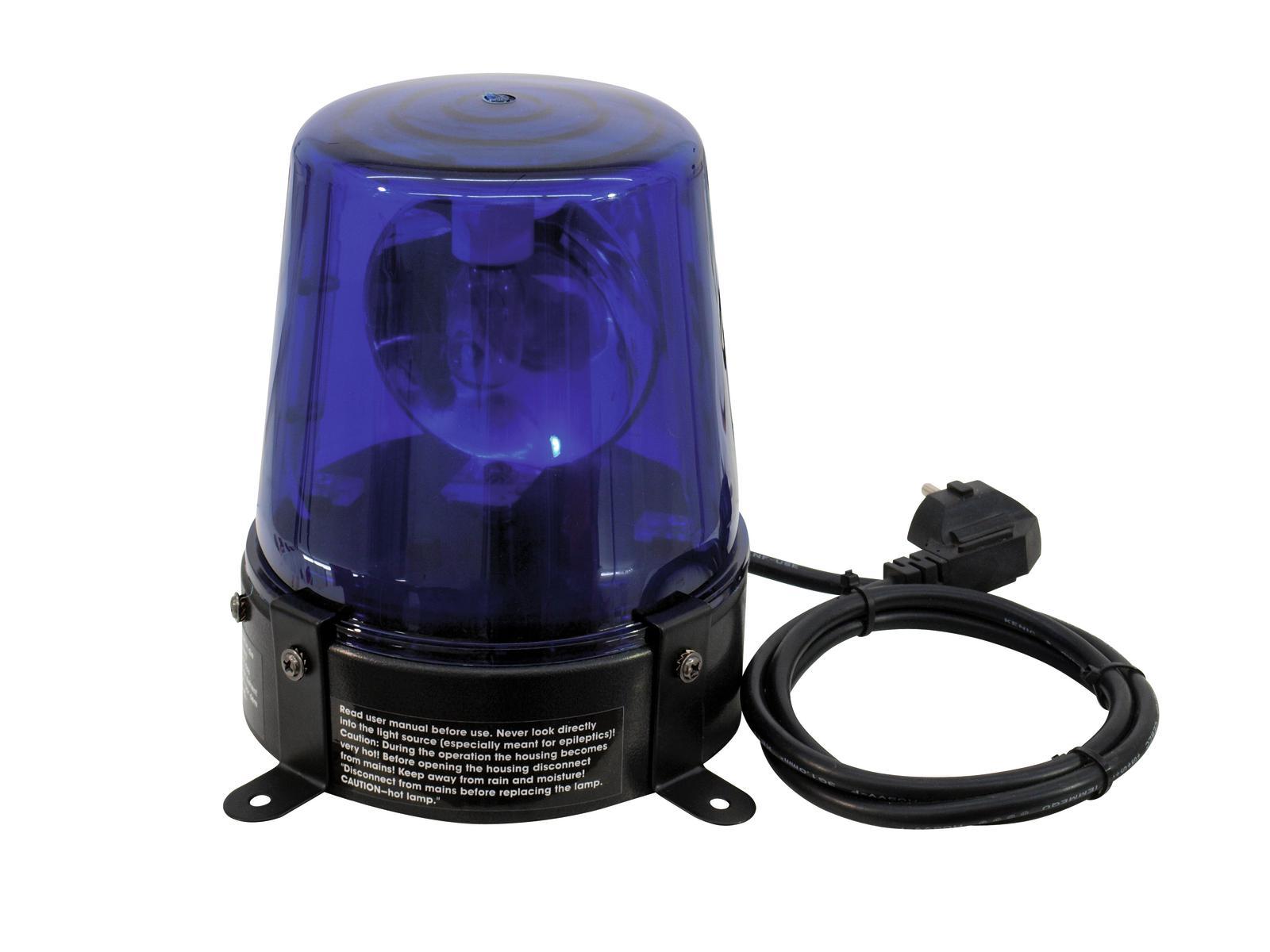 Gyrophare bleu 230V