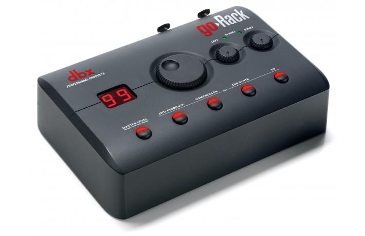 Processeur de diffusion DBX portable micro/ligne - GORACK