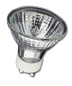 Lampe GU10 240V 35W 38° halogène économique équivalent 50W